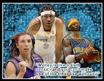 NBA money