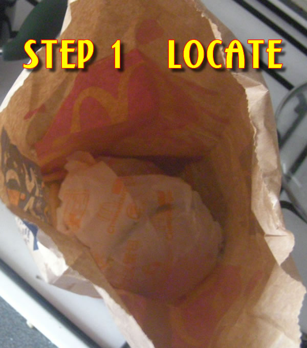 Recipe: Reheating a Mcdonald's Cheeseburger with a Foreman Grill