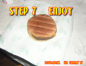 Enjoy! I\'m grillin\' it...