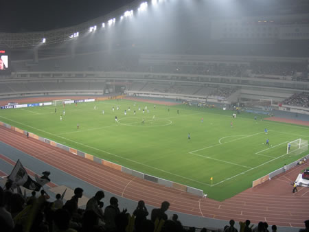 Shanghai Shenhua v Juventus @ Fiat Cup, Shanghai Stadium