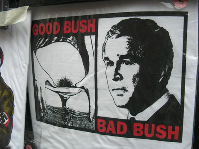Good Bush Bad Bush t-shirt