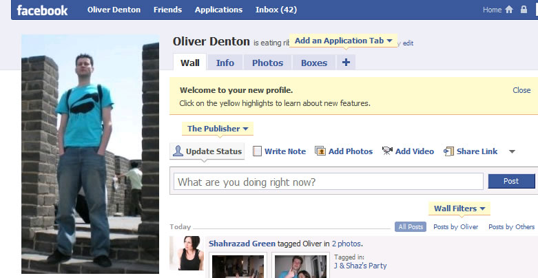 Facebook has been redesigned