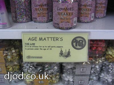 Age matter's k?