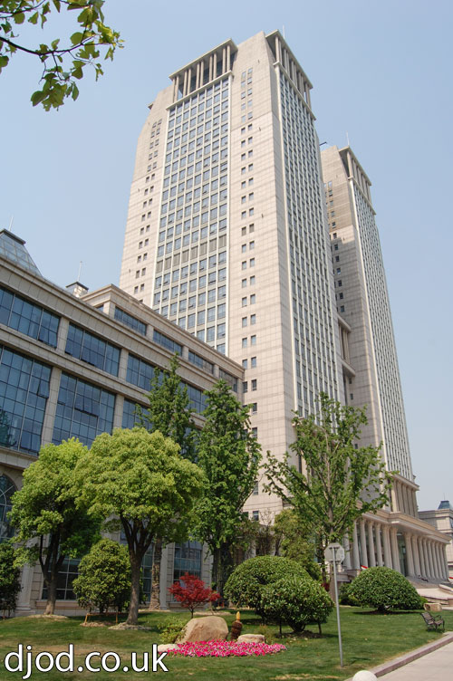 fudan towers shanghai photo pictures