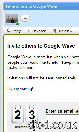 Christmas has come early for you! (If you want a Google Wave invite for Christmas) (提前发送圣诞礼物啦!(如果你想要Google Wave邀请))