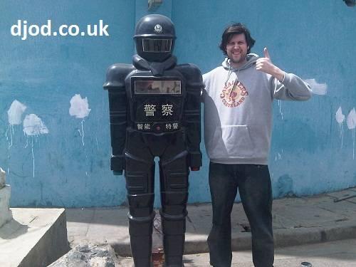 Kunming Robot Policemen