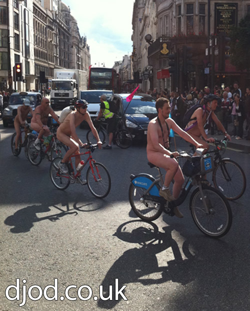 London Nude Bike Ride 2011 Photos