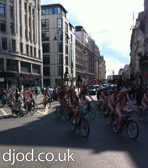 London Nude Bike Ride 2011