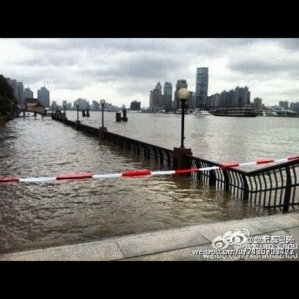 Photo – Shanghai under water! Check djod.co.uk for more typhoon pics
