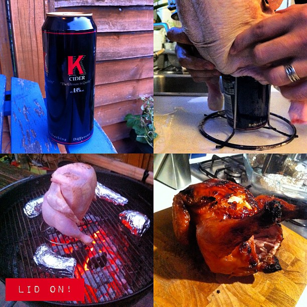 Photo – Super-cider BBQ chicken