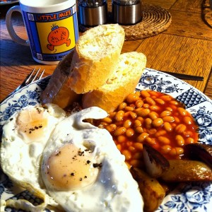 Photo – Who said there's no such thing as English cooking?