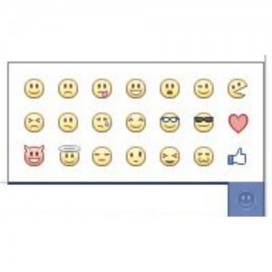 How to do Facebook emoticons in comments